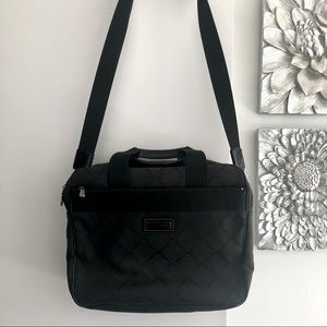 LONGCHAMP Black Laptop Work Travel Bag